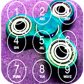Fidget Spinners Lock Screen Icon