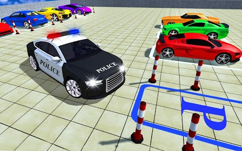 Multistory Police Car Parking Mania 3D for pc