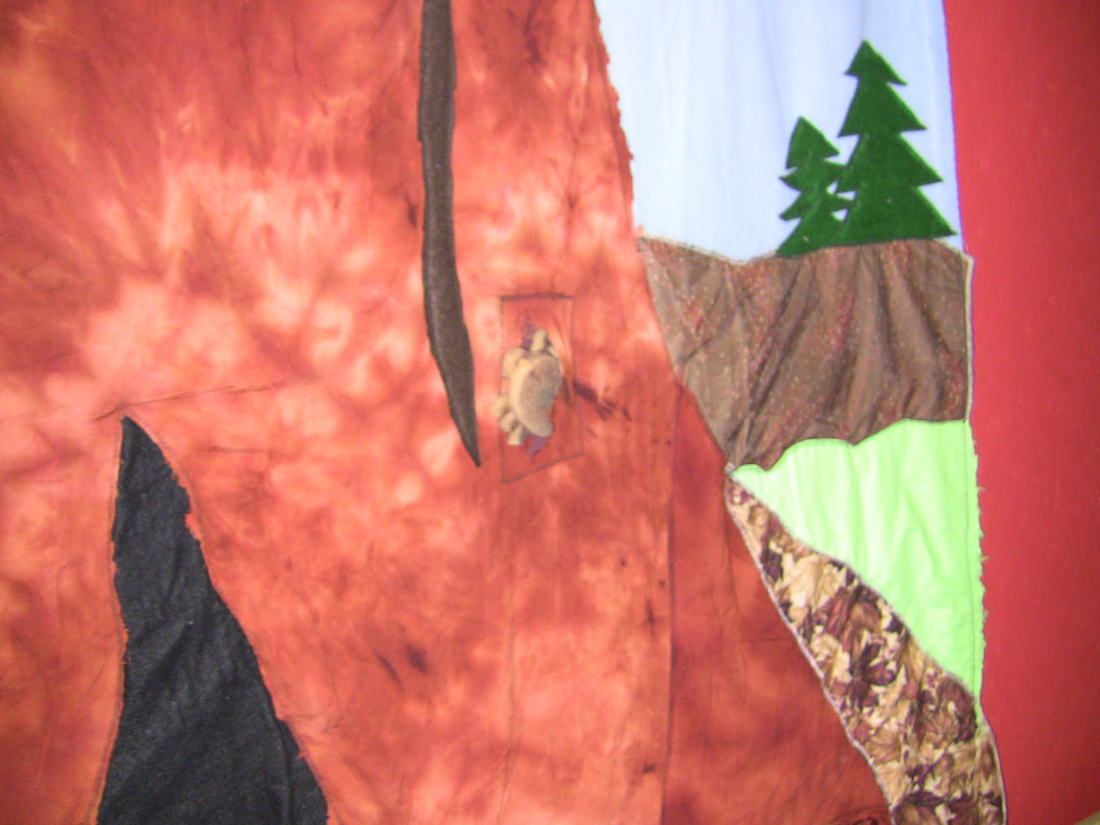 Tree Trunk Fabric Backdrop