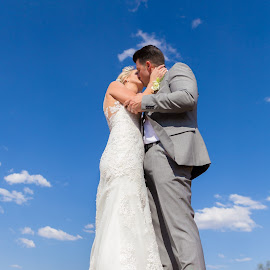 Up by Lodewyk W Goosen (LWG Photo) - Wedding Bride & Groom ( wedding photography, brides, wedding dress, weddngs, romance, love, kiss, wedding, wedding day, couple, sunshine, wedding photographer, bride and groom, bride, groom, bride groom )