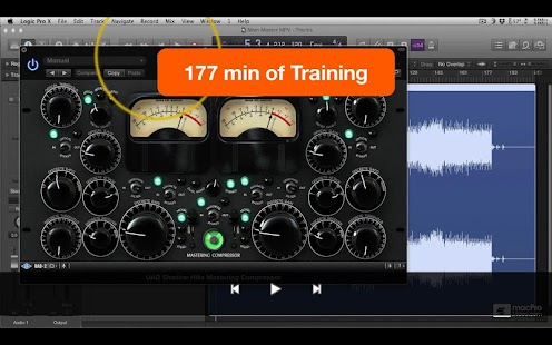 Mastering EDM for Logic Pro X - screenshot