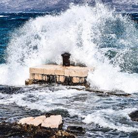 HURRICANE by Marija Kožul - Landscapes Waterscapes ( amazing, wild, wind, perfection, mountain, winter, season, sea, seaside, beach, seascape, storm,  )