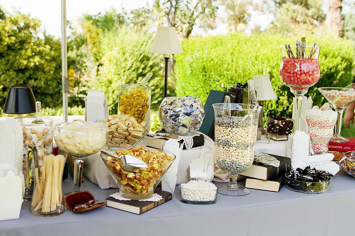 Wedding Pictures - Candy Bar