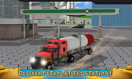 Oil Transportation Truck Sim - screenshot