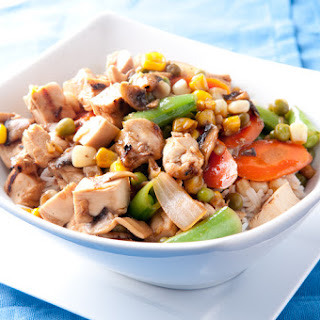 Chicken Stir-Fry with Farm-Fresh Vegetables
