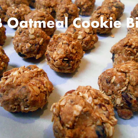 PB Oatmeal Cookie Bites (Vegan)