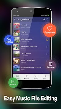 Music Player For Android APK screenshot thumbnail 5