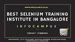 best selenium training institute in Bangalore