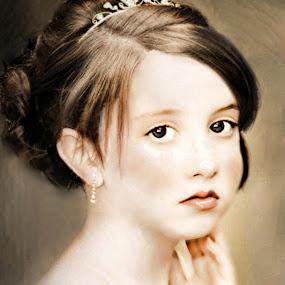 Cameo by Irma Mason - Babies & Children Child Portraits ( child, girl, age, innocence, children, kids, cameo, people )