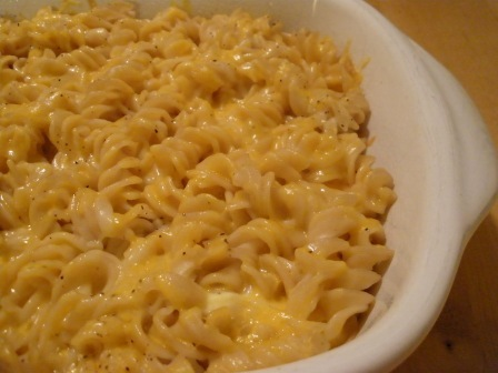 [macaroni & cheese in dish[3].jpg&description=What do you eat that's gluten free]