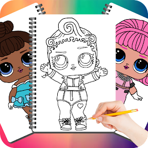 Drawing Cute Surprise Dolls For PC / Windows 7/8/10 / Mac – Free Download