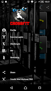 Crossfit wod workouts Fitness app screenshot 1 for Android