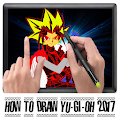 App Tutorial Draw Yugioh New 2017 APK for Kindle