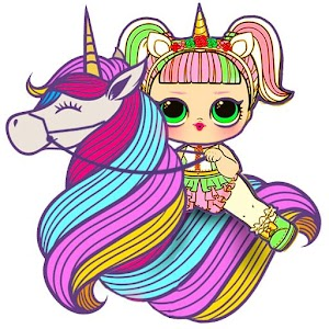 Lol dolls Unicorn For PC / Windows 7/8/10 / Mac – Free Download