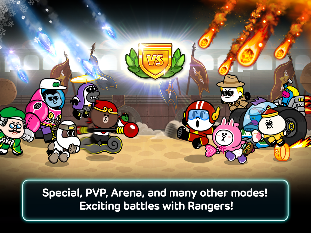 LINE Rangers Screenshot 12