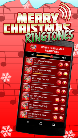 android Sonneries de Noël Screenshot 1