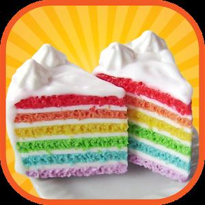 Free Download Rainbow Cake Maker Bake shop APK for Samsung