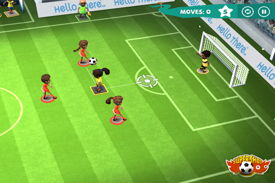 Find a Way Soccer: Women's Cup Screenshot 1