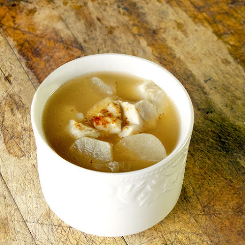 Miso Soup (with Sesame and Daikon)