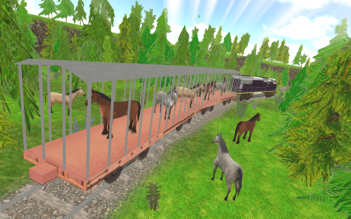 Horse Train Transport Practise For PC
