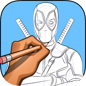 Download how to draw Deadpool for Windows Phone