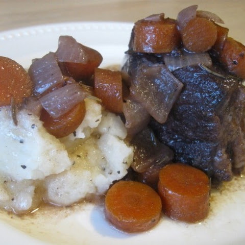 Beef Roast Braised in Zinfandel Recept | Yummly