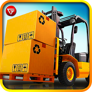 Cover art Extreme Forklift Driving 3D