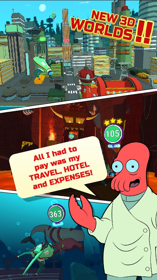Futurama: Game of Drones Screenshot 3