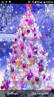 4D Christmas Live Wallpaper - screenshot