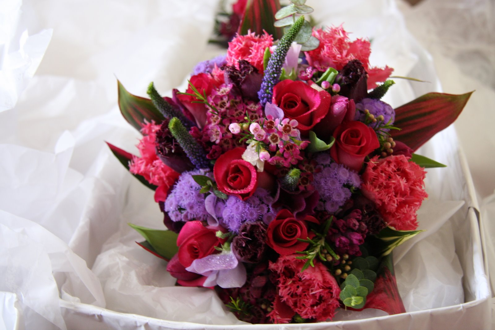 Amie\'s blog: Purple Wedding Bouquet