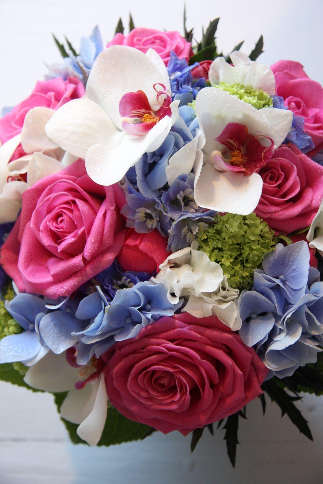 Hot Pink & Royal Blue Wedding