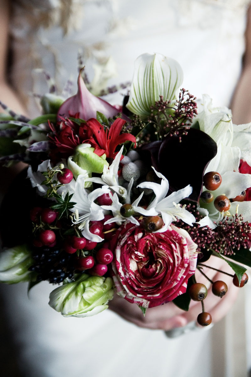 Flower Design Wedding Bouquets