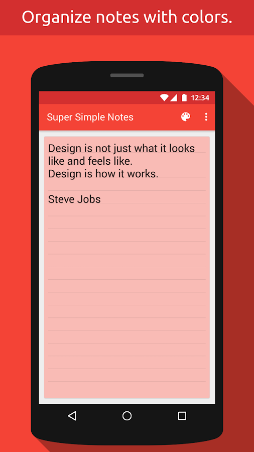 Super Simple Notes Screenshot 2
