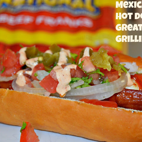Mexican Style Hot Dog for Great Summer Grilling