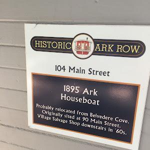 1895 Ark Houseboat