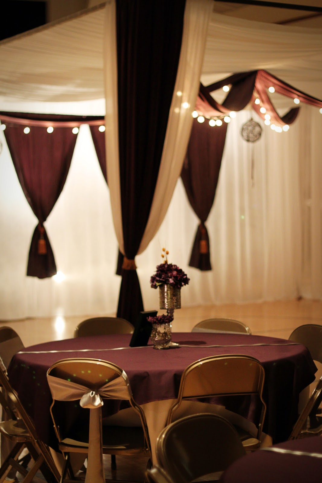 Fall Themed Wedding Receptions