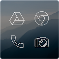 Download Lines Free - Icon Pack APK to PC