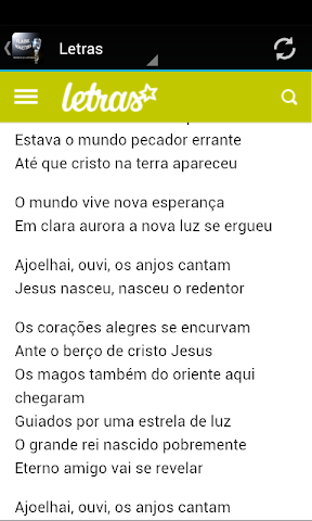 android Elaine Martins Musica & Letras Screenshot 2