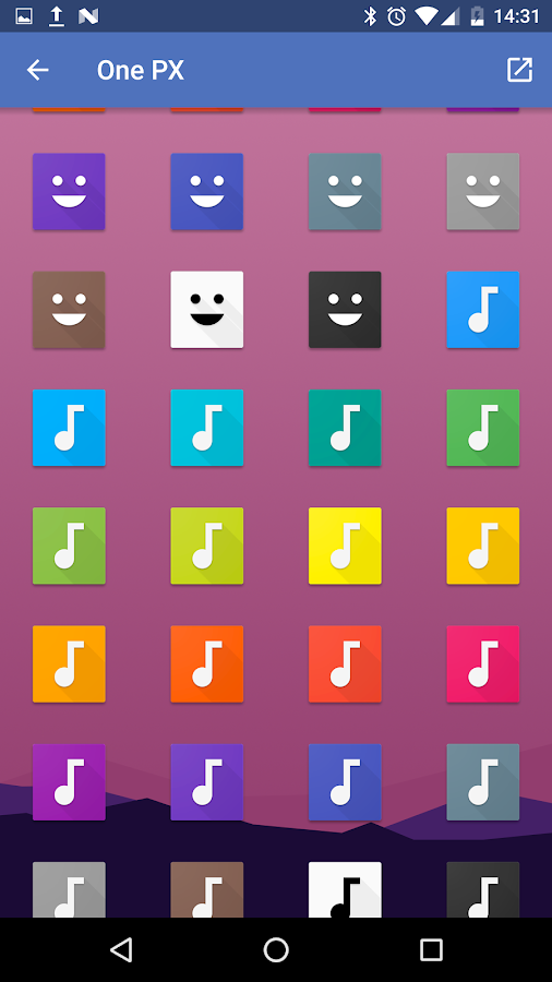 OnePX - Icon Pack Screenshot 5