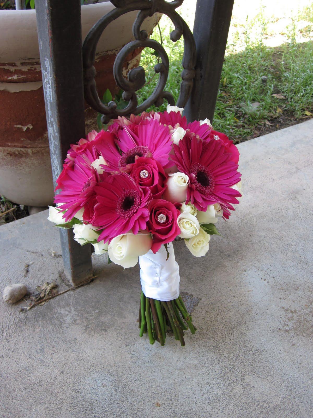 Letha\'s blog: hot pink and black wedding