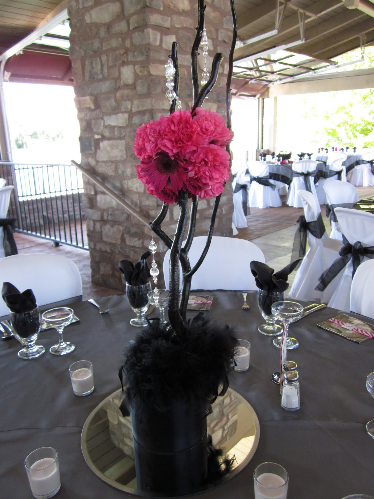 submerged flower centerpieces