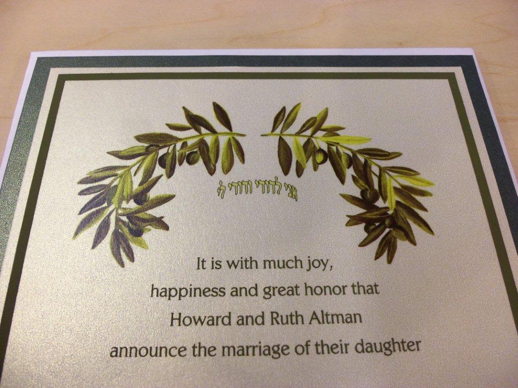 Reform Jewish Wedding Ceremony Program - todayrb6y.over ...