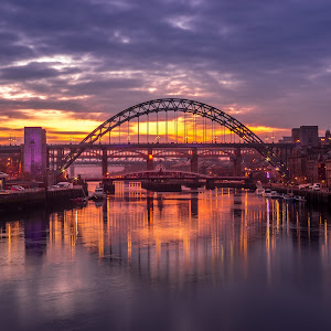 Sunset From The Millennium Bridge by Lang Shot Photography (1 of 1).jpg