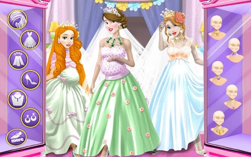Wedding Pregnant Dressup- screenshot thumbnail