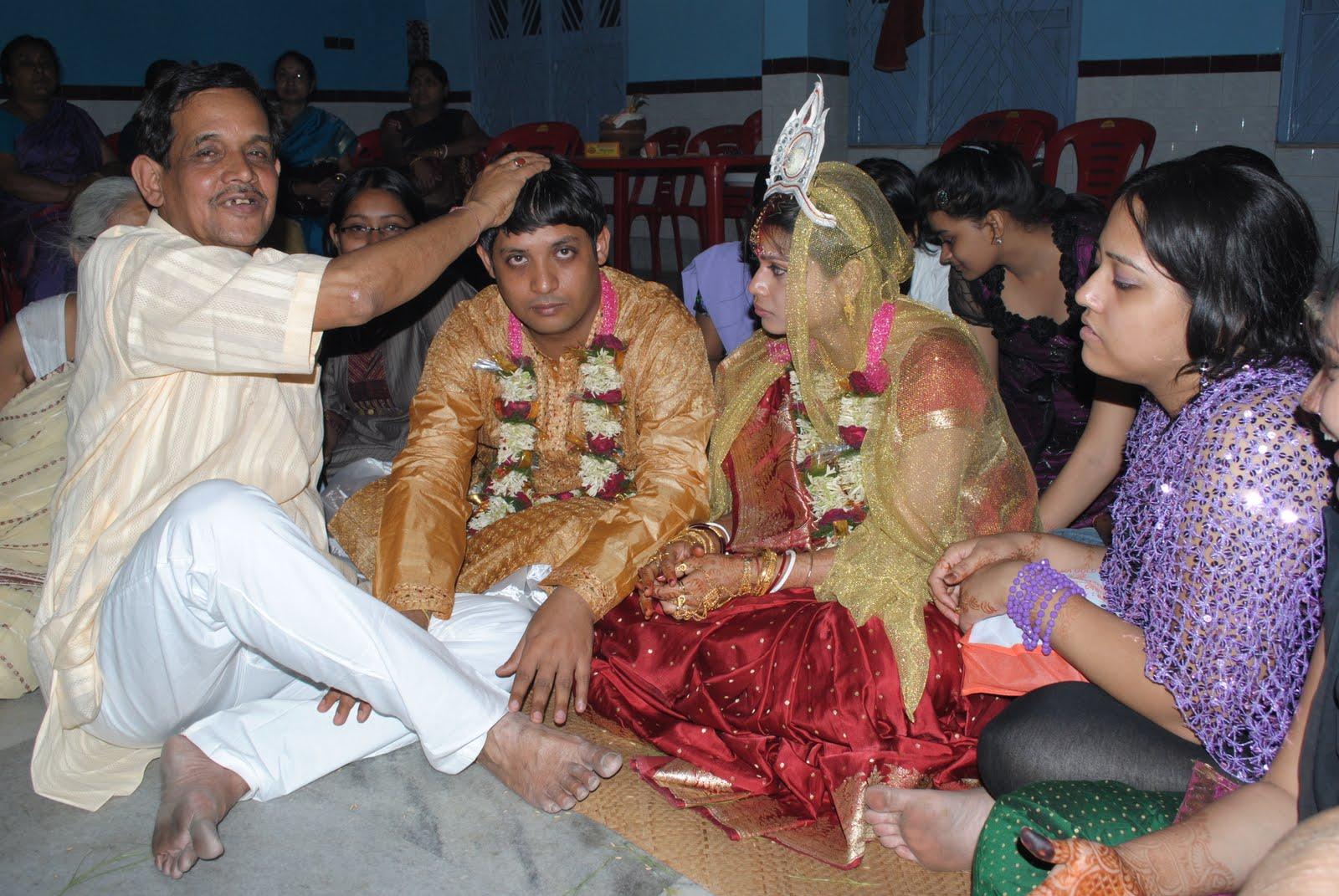 bengali wedding, christian