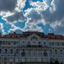 big building by Alen Zita - Buildings & Architecture Office Buildings & Hotels ( hungary, building, sky, square, hotel )