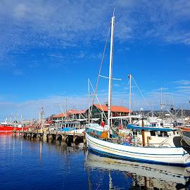 by Sam Medzic - Transportation Boats