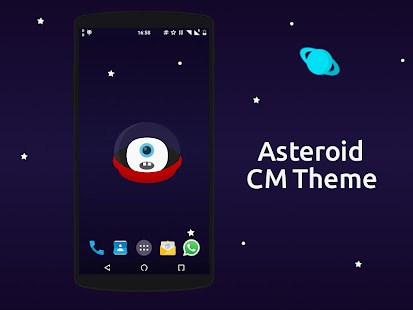 Asteroid Lite [CM 12.x Theme] - screenshot
