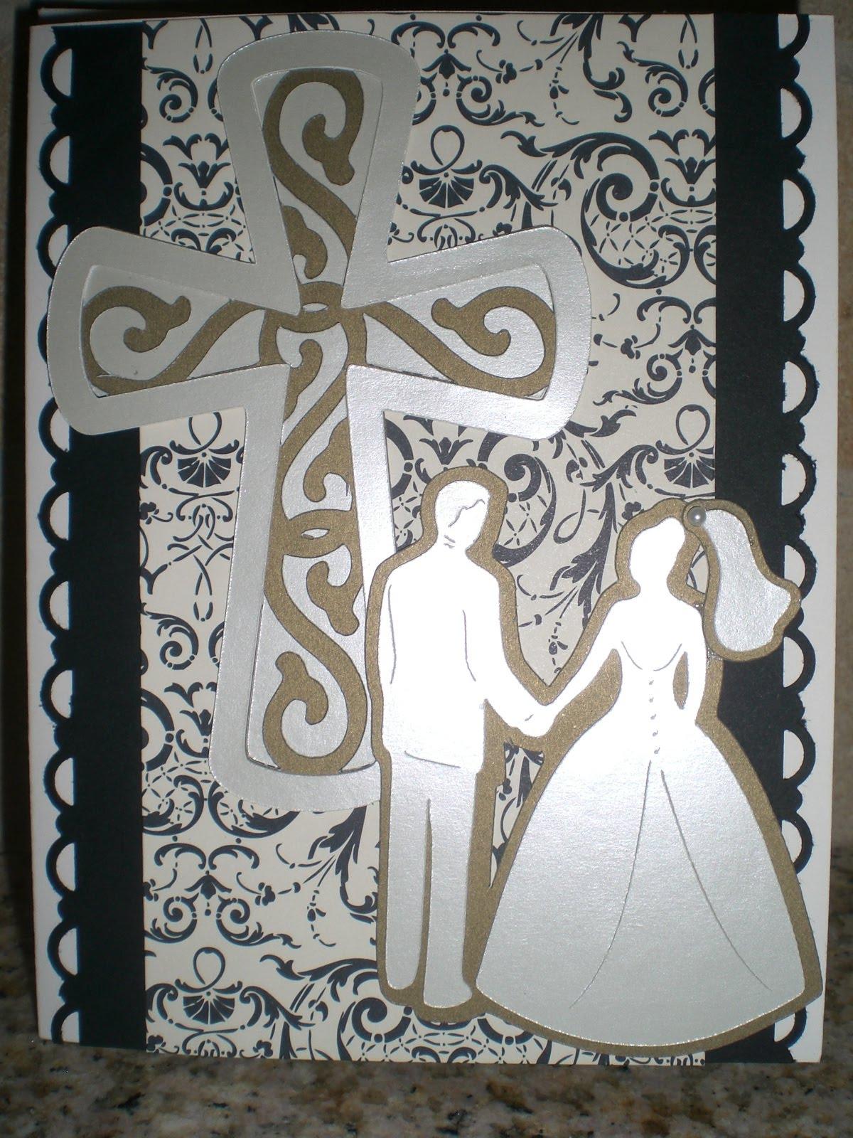 Creative Christian Wedding Cards Design