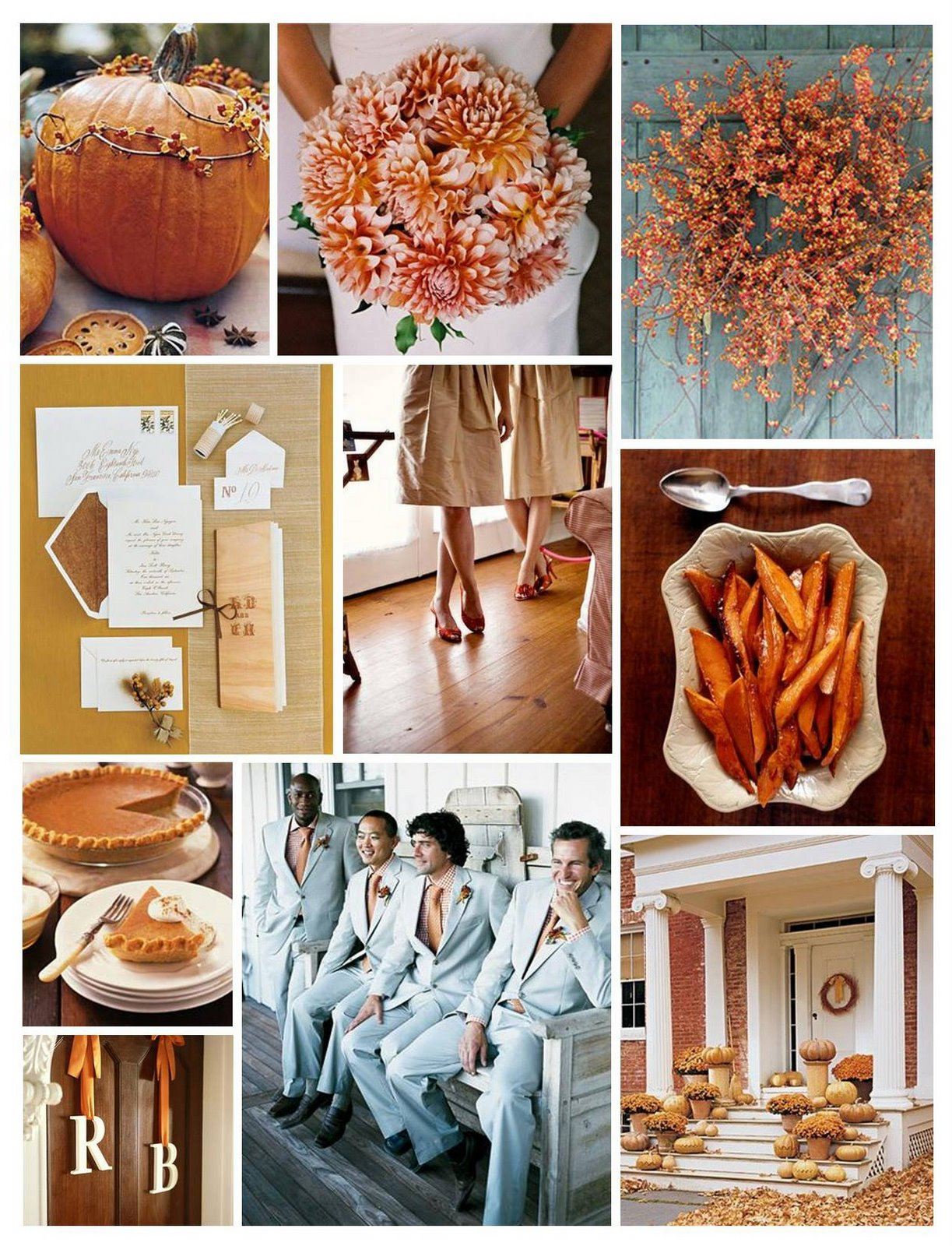 Fall Wedding Inspiration!